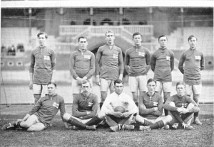 Сборная Швеции по футболу 1912