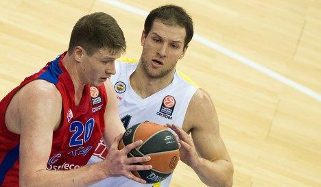 ЦСКА Фенербахче смотреть онлайн баскетбол
