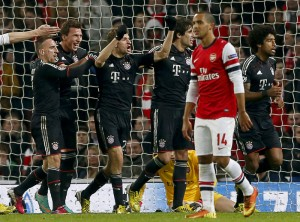 Arsenal vs Bayern Munich